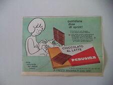 advertising Pubblicità 1964 CIOCCOLATO PERUGINA