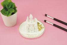 Disney Princess Castle Trinket Dish Jewellery Necklaces Rings Holder