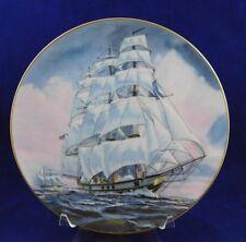 Danbury Mint Great American Sailing Ships Collector Plate - The Ann McKim