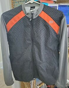Louis Garneau WINTER JACKET Size Large Long Sleeve Cycle Jersey