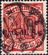 HAUTE SILÉSIE / OBERSCHLESIEN Dienstmarken Mi.13.III Fine Used OPPELN