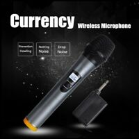ARCHEER Portable Handheld bluetooth UHF Wireless Microphone Karaoke System