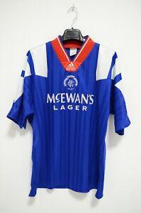 Glasgow Rangers Rare Vintage Original 1992 Home Shirt 40/42