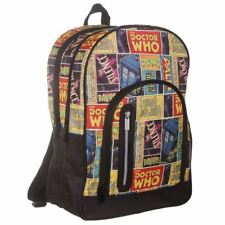 Doctor Who Retro Comic Large Backpack Back Pack Rucksack Bag - BBC DW TV