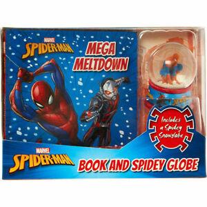 Marvel Spider-Man Book & Snow Globe Stocking Filler Christmas Gift Present NEW