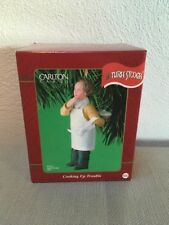 Three Stooges Ornament Carlton Cards Heirloom Larry Cooking Up Trouble 2001 NIB