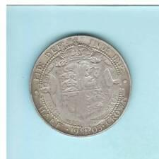 GROßBRITANNIEN, Edward VII., Half Crown 1903 Silber 13,8gr. 0.9250