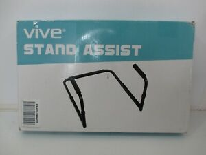 Vive NIB Stand Assist SUP1090 Black Mobility Stand Aid Chair Couch Adjustable