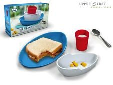 New - Fred® Tug Bowl Kids Plates and Cup Melamine FAST N FREE DELIVERY