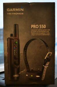 BRAND NEW Garmin Pro 550 Dog Training System - 0100120200 FREE FAST SHIPPING