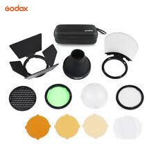 Godox AK-R1 Super Accessory Kit Honeycomb Snoot Diffuser+Filters For AD200 H200R