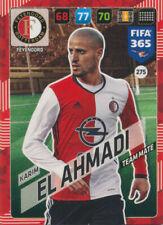 Panini Adrenalyn XL FIFA 365 2018 #275 Karim El Ahmadi Feyenoord Rotterdam