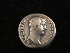 Monnaie Romaine Argent Massif Empire Hadrien Pièce Ancienne Antique