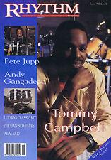 TOMMY CAMPBELL / PETE JUPP / ANDY GANGADEENRhythmVOL 5 no.12June1990