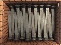 "10 NEW Carbon Steel Railroad Spikes  6.75"" FREE SHIPPING   LOT of 10"