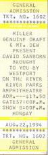 David Sanborn Concert Ticket 1994