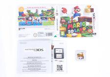 SUPER Mario 3D LAND in scatola-Nintendo 3 DS GIOCO CARTUCCIA PAL