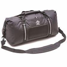 Aqua Quest White Water 75L Waterproof Duffel Durable Travel Gym Bag - Black