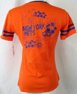 New York Mets Women S Screened ESTABLISHED 1962 BASEBALL CLUB T-shirt NYM 109