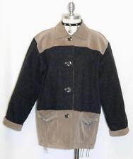 Leather & Wool / German Winter Women Hunting Shooting Sport Jacket Coat 38 14 L
