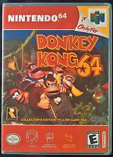 Donkey Kong 64 N64 Vertical High Quality Box art/Case by RetroDan