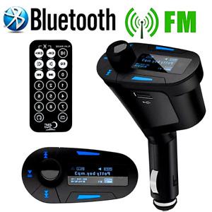 Autos kit Radio Cargador de Coche Carro Bluetooth MP3 Inalambrico Transmisor FM