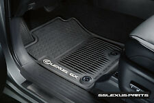 Lexus GX460 (2014-2019) OEM Genuine ALL WEATHER FLOOR MATS (Black) (5 PIECE SET)
