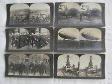 "Vintage ( 6 ) Keystone View Company ( Stereoviews) - Around the World "" War"""