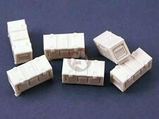 Panzer Art 1/35 B167 British Army Ammo Boxes WWII (6 pieces) [Diorama] RE35-106