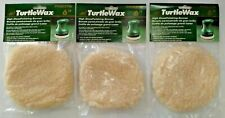 "TurtleWax 99002Tw 6"" High Gloss Polishing Wool Bonnet 3Pks"