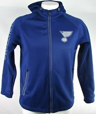 St. Louis Blues NHL G-III Men's Full-Zip Hooded Track Jacket
