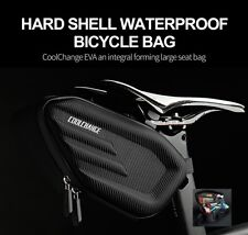CoolChange Cycling Bicycle Saddle Bag Pannier MTB Road Bike Seat Bag Tail Storag