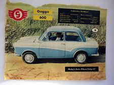 Micky´s Auto-Album 1958  Folge 18 Goggo 600