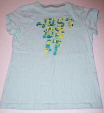 NIKE~Short-sleeve T-shirt~JUST DO IT~GIRLS SIZE M/8