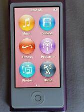 New listing Apple iPod Nano 7th Generation 16Gb Mp3 Player - Purple
