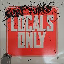 Surf Punks Locals Only 1982 Day Glo Private Press Original LP Dennis Dragon
