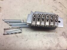 Vintage Wilkinson VS50 Tremolo  Bridge Vibrato Stainless Steel Brushed