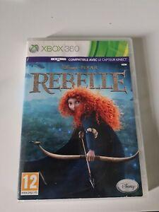 Jeu rare Disney Pixar Rebelle XBOX 360