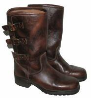 """"""" NEVADA """" Herren- Biker- Stiefel / Western- Boots in braun ca. Gr. 43,5 - 44"""