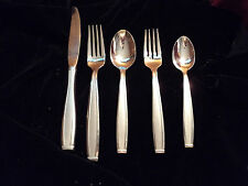 Oneida Satin Shasta Piloti Set of  1 of 8 set 5 place setting  Retired