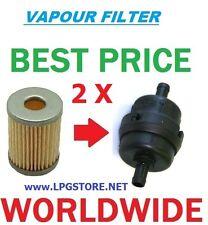 2 x lpg tartarini dampf filtereinsatz autogas (2un)