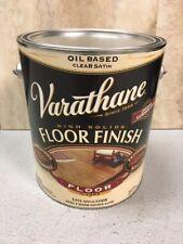 Varathane Polyurethane Floor Finish CLEAR Satin-Gloss Oil Based