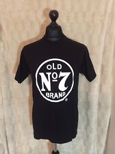 JACK DANIELS No.7 T SHIRT SIZE M NEW AND UNUSED