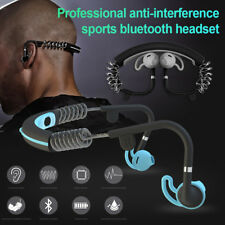 Pro Bluetooth Wireless Stereo Headset Sports Earphone Handfree Headphone Wu