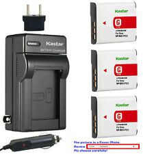 Kastar Battery AC Charger for Sony NP-BG1 NP-FG1 Sony Cyber-shot DSC-H7 Camera