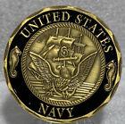 Внешний вид - * US Navy Challenge Coin, Shellback US Navy Values Challenge Collectible Coin