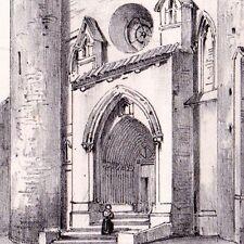 Eglise Saint Jean Baptiste de Mézin Guyenne Lot & Garonne