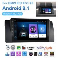 "9"" Car Stereo Radio For BMW E39 E38 E53 X5 GPS Head Unit Navigation Android Wifi"