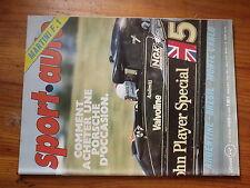 $$u Revue sport auto N°193 Martini F1  GP Bresil  GP Argentine  Alpine V6