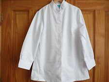 Ladies white Catering Tunic size 18 brand new  Image @ Work
